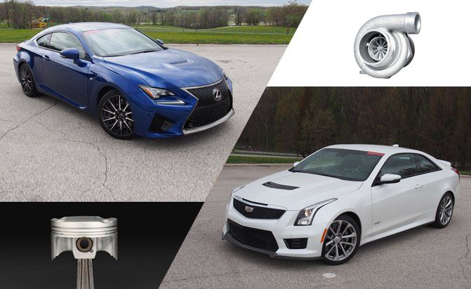 The 2016 Cadillac ATS-V against the 2015 Lexus RC F. Sick of the usual German luxury performance coupes? Here's two alternatives.
