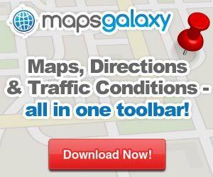 Mapsgalaxy US Toolbar Download Maps driving directions world