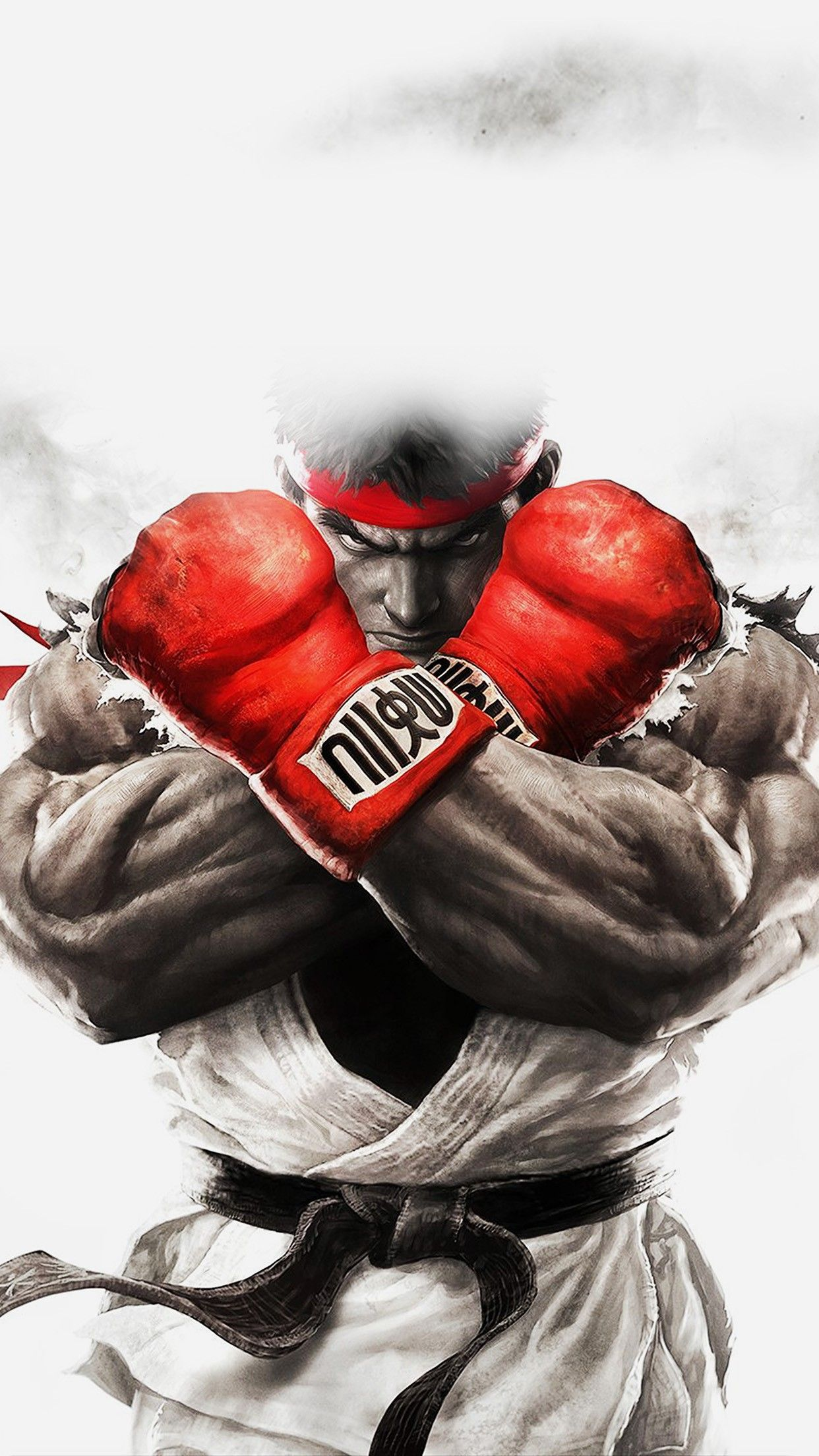 Street Fighter Illustration Game Smartphone Wallpaper and