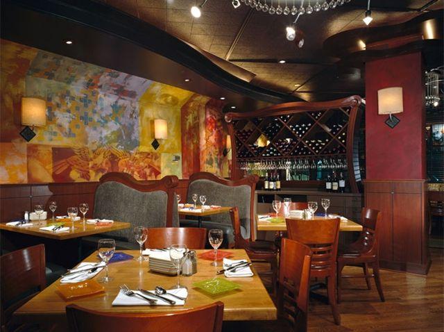 Andaluca a top seattle restaurant mediterranean food - Restaurant interior design seattle ...