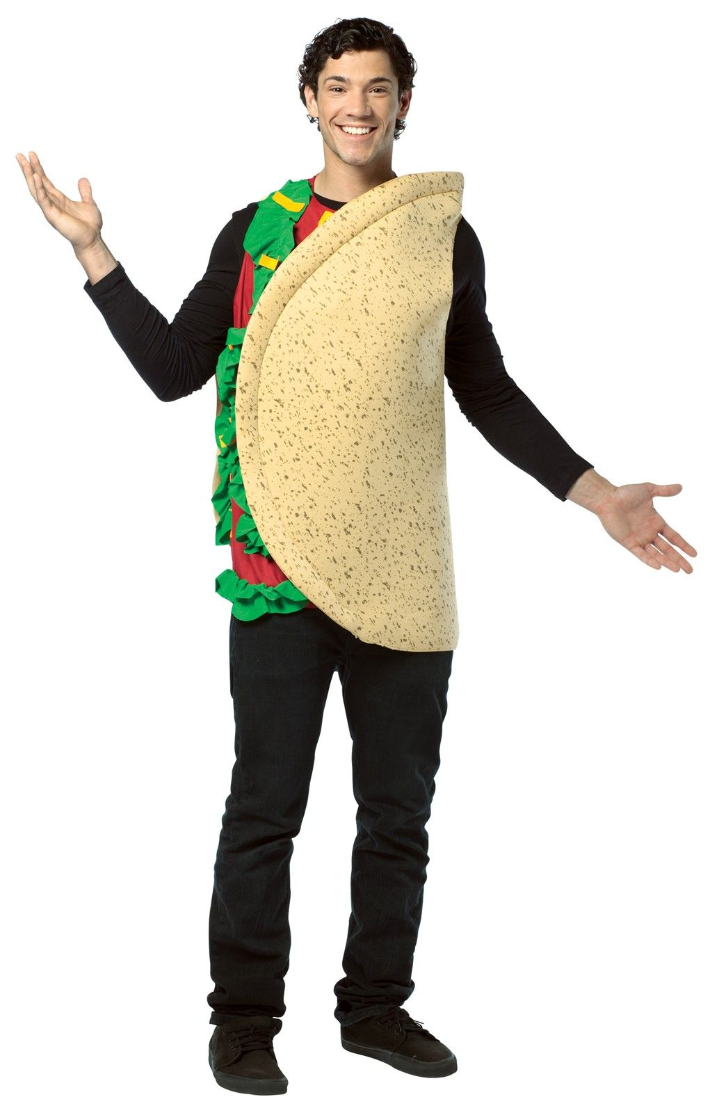 Funny Food Taco Adult Costume