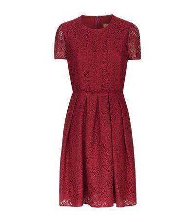 BURBERRY Lace Skater Dress. #burberry #cloth #