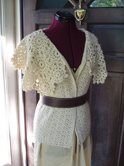 Surrey Vest...some pretty things here & some patterns!