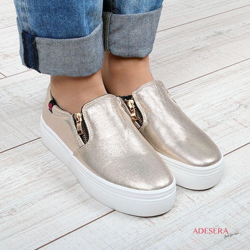 12bc18538 Слипоны женские Украина купить онлайн отзывы / : Adesera - интернет магазин  женской обуви и одежды