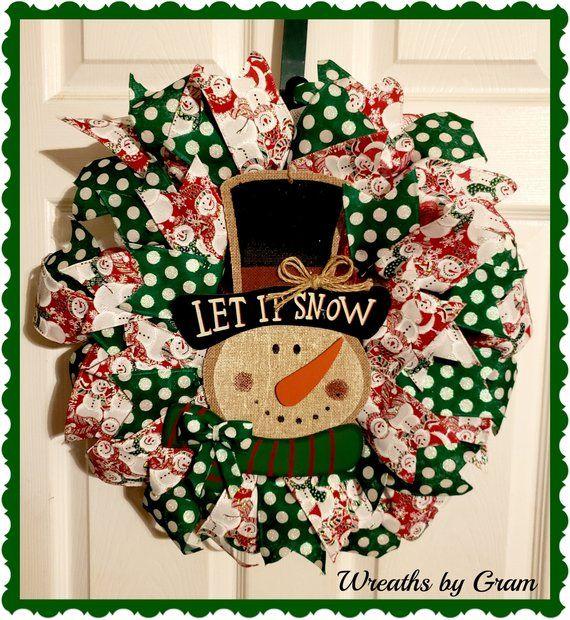 Photo of Winter Wreaths for Front Door Snowman Wreath New Home Gift Winter Door Decor Deco Mesh Wreath Front Porch Decor Christmas Gifts Mantel Decor