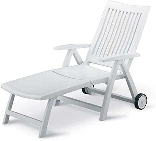 Amazing offer on KETTLER Roma Folding Lounger White Resin online - Ppwonderfulrange