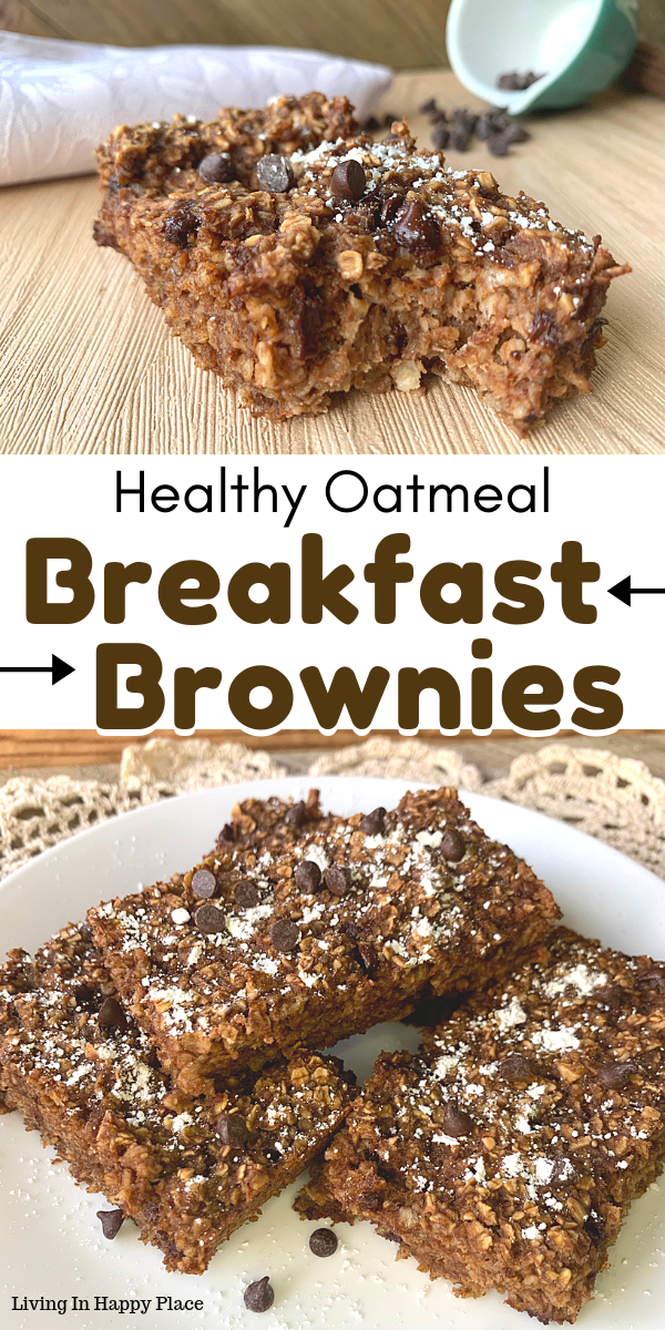 This healthy twist on breakfast brownies will knock your socks off! If you are looking for healthy