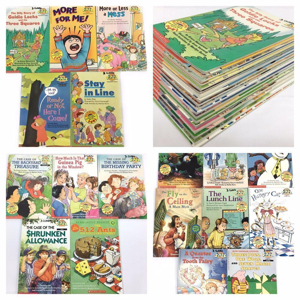 18 Lot HELLO READER All MATH READERS Easy Beginner Books