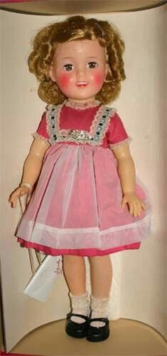 17 Vinyl Shirley Temple Dolls Ideal Doll St 17 1 View All Shirley Temple Vintage Dolls Shirley Temple Black