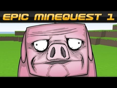 "EPIC MINEQUEST 1   ""Pigusta"" by Sam Green Media - YouTube"