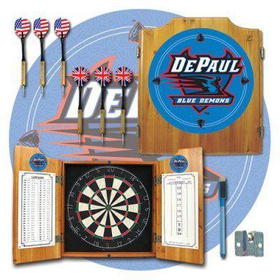Trademark Games NCAA Bristle Dart Board Complete Set - LRG7000-DEP