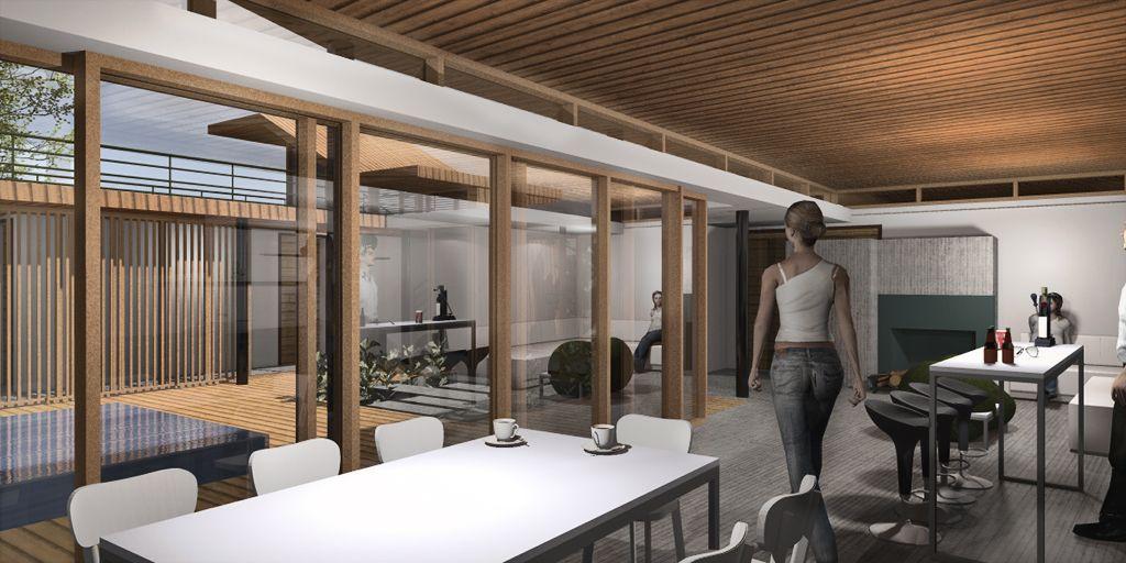 interior modelo en revit artlantis para render nge. Black Bedroom Furniture Sets. Home Design Ideas