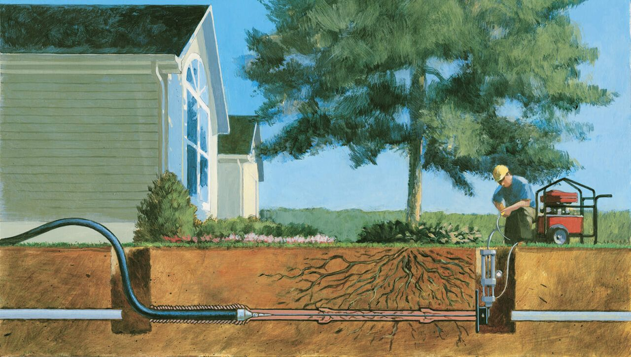 How Trenchless Sewer Repair Works Sewer repair, Sewer
