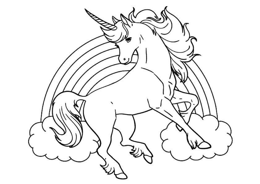 ausmalbilder einhorn  unicorn coloring pages mandala