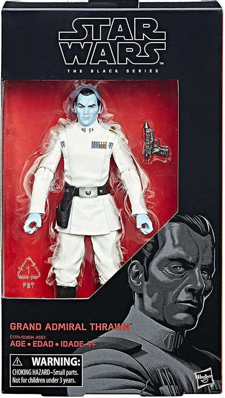 "Star Wars Black Series Rebels GRAND ADMIRAL THRAWN /& Director Krennic 6/"" Figure"