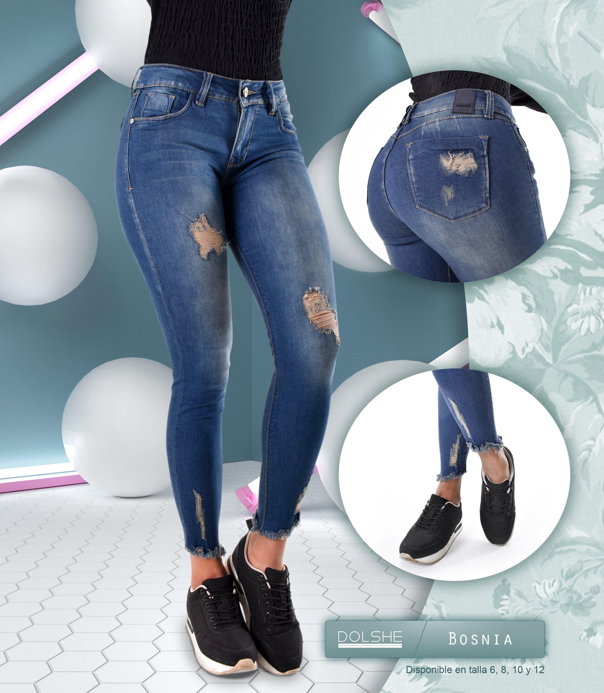 Los Destroyed Y Este Color Son Los Indicados Para Ti Conoce Nuestro Jean Bosnia Y Que El Estilo Hable Por Ti Womens Fashion Jeans Women Jeans Skinny Jeans