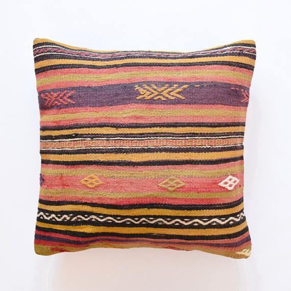 Kilim pillow cover 26