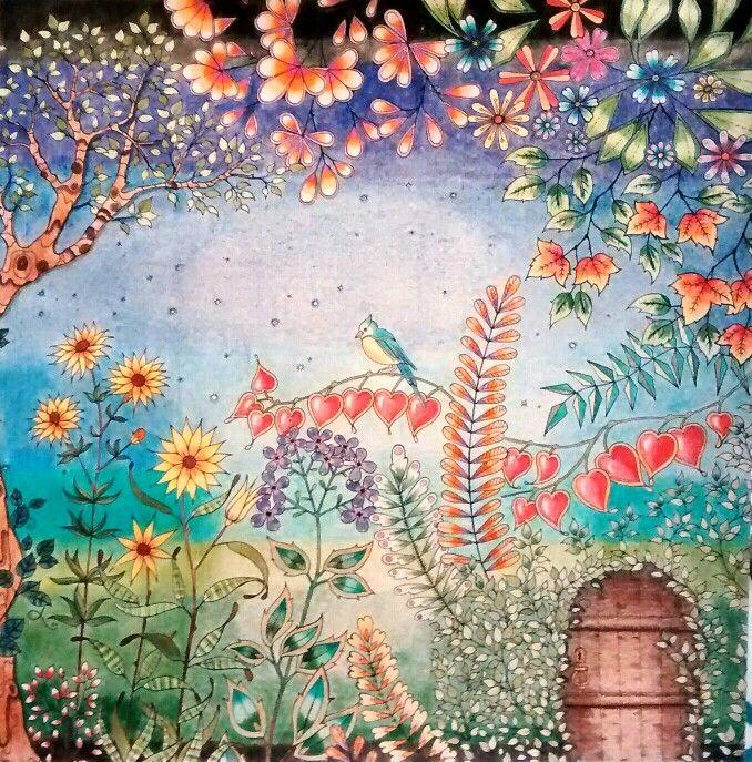 Jardim secreto. Pintura by Thaís Gimenez.