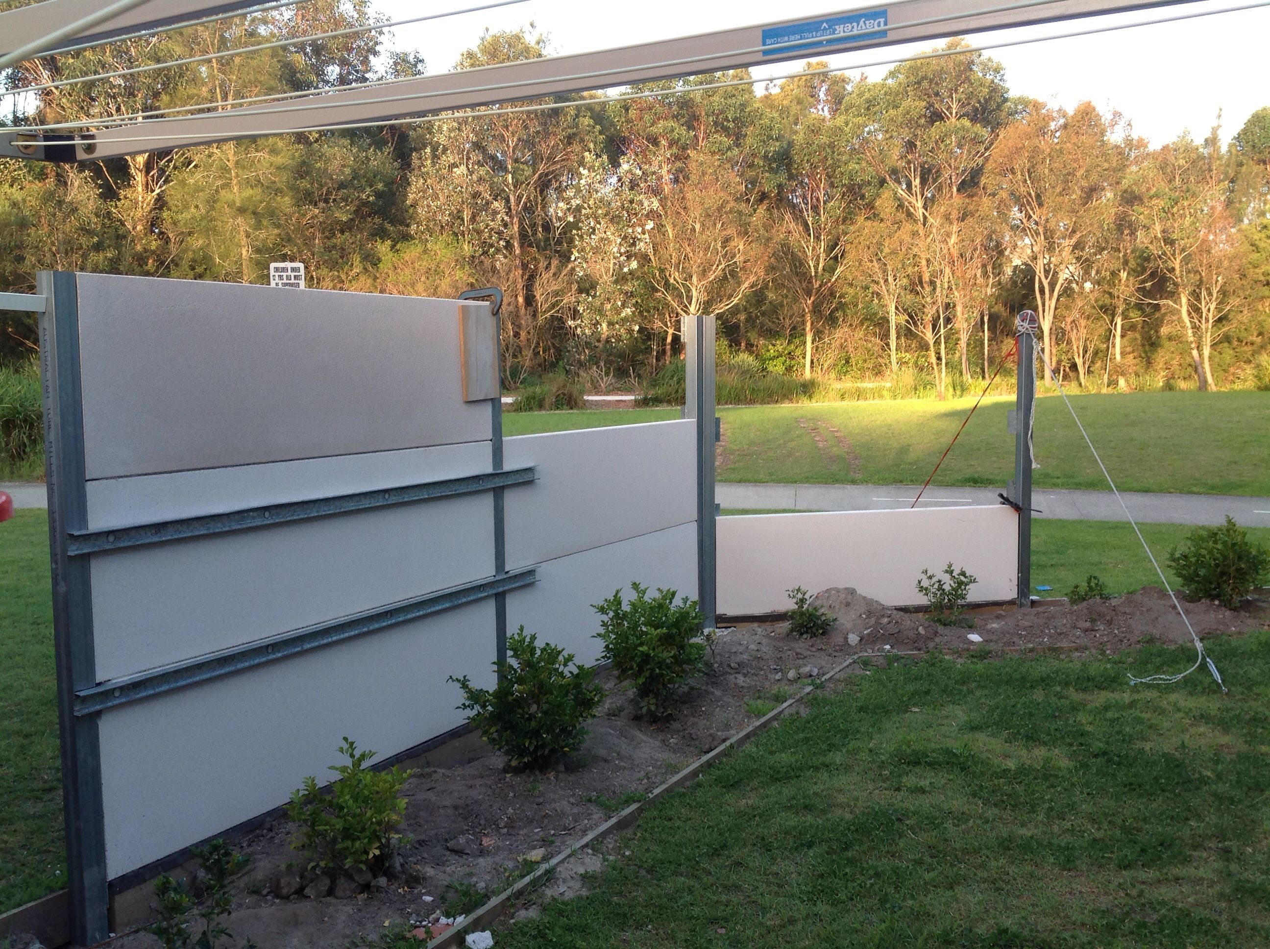 Hebel Powerfence Fence Design Boundary Walls Fence