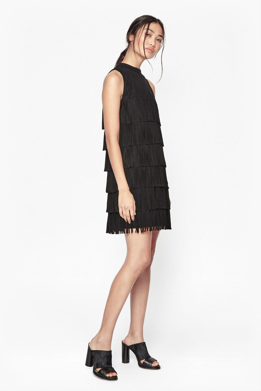 b71279869f8 Hula Fringe Faux Suede Dress | Dresses | French Connection | Outfit ...