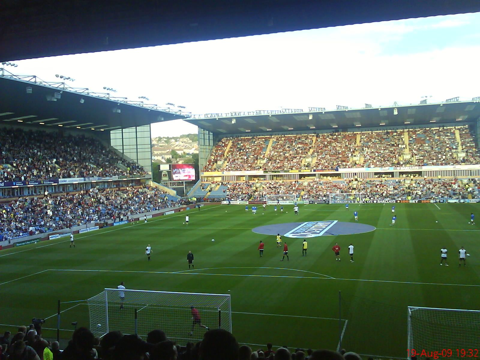 Turf Moor, Burnley. If lower league football is your thing, this is a venue well worth the effort to get to.