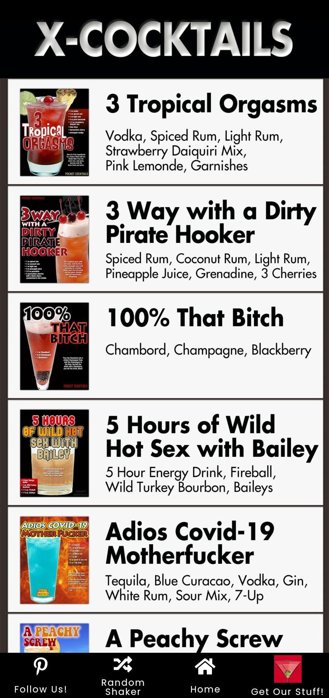 Pocket Cocktails X Alcohol Drink Recipes Drinks Alcohol Recipes Mixed Drinks Recipes