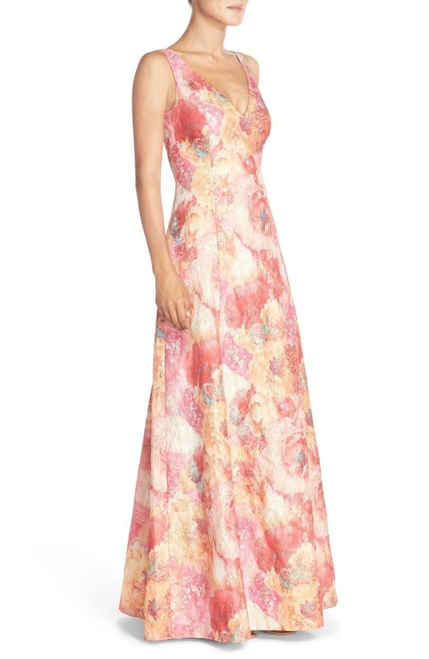 624d8ed3 R & M Richards Womens Matte Jersey Metallic Cocktail Dress | Shoe Sale