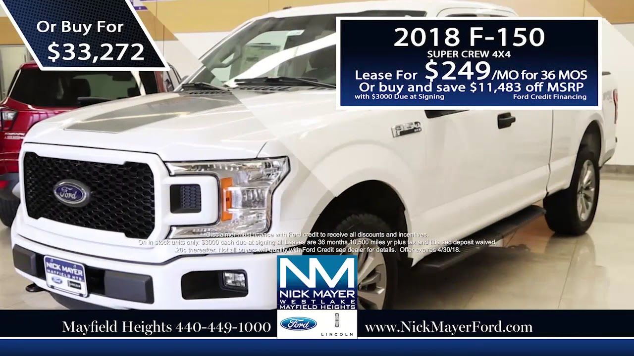 Buy A New Ford F 150 Maple Heights Oh At Nick Mayer Ford Our