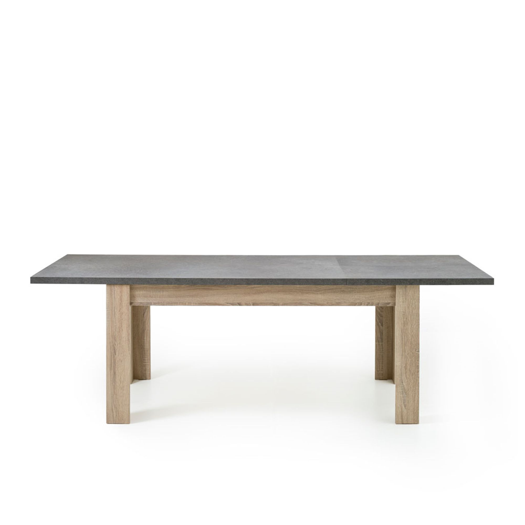 Meuble Milo Alinea Alinea Milo Table Rectangulaire Avec Allonge L160cm à