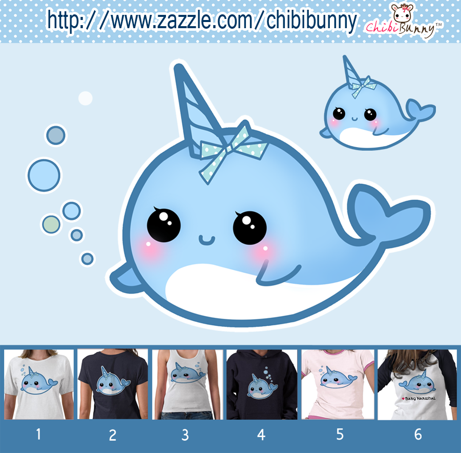 cute narwhal | Miniature stuff | Pinterest | Dibujos kawaii, Kawaii ...