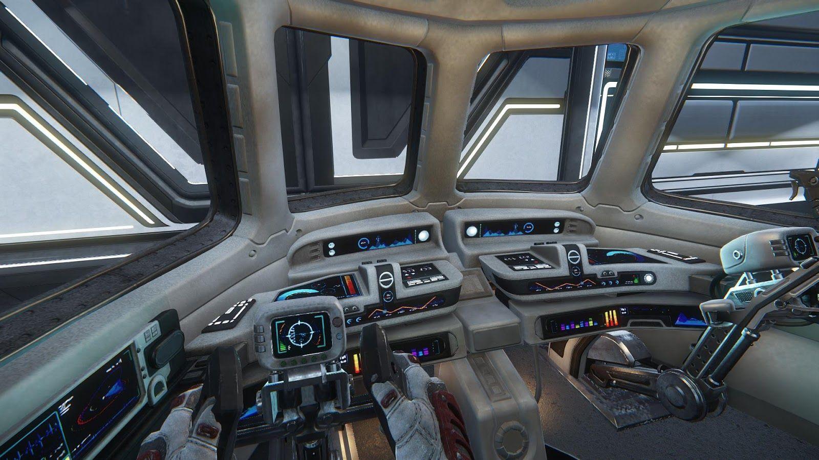 Spaceship cockpit interior google search int rieurs de for Interieur vaisseau star wars