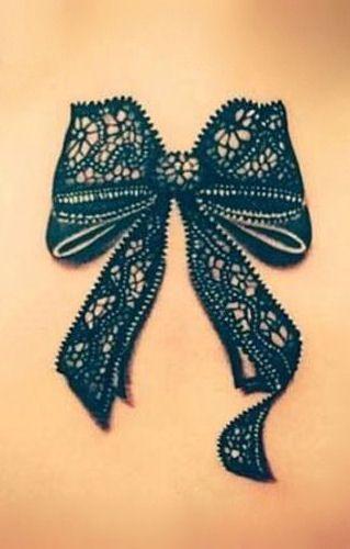 Lace Bow Tattoos : tattoos, Ribbon, Tattoos, Tattoos,, Tattoo,, Tattoo, Thigh
