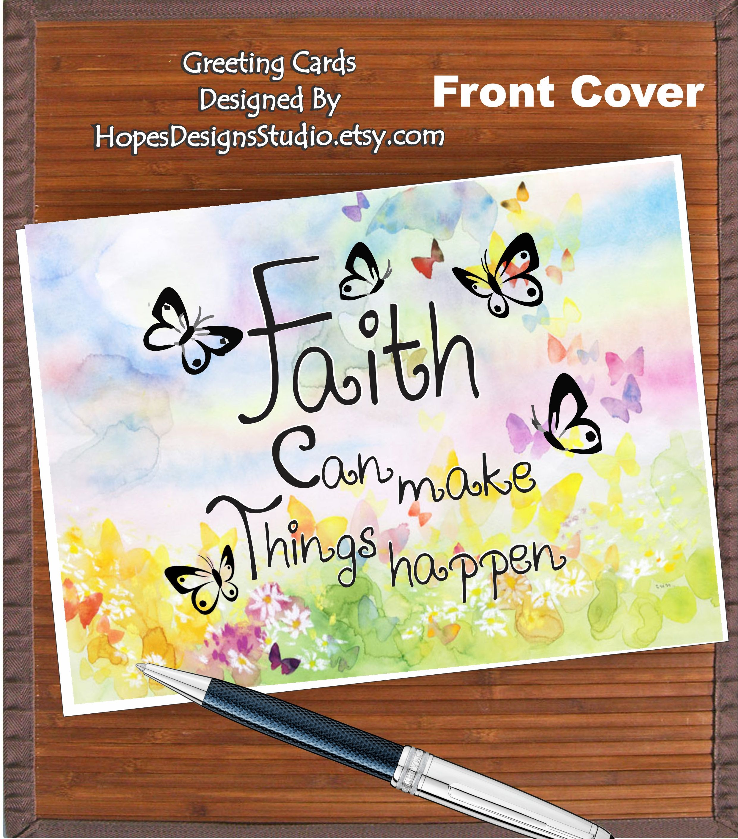 Jw Giftsjw Greeting Cardfaith Can Make Things Happen
