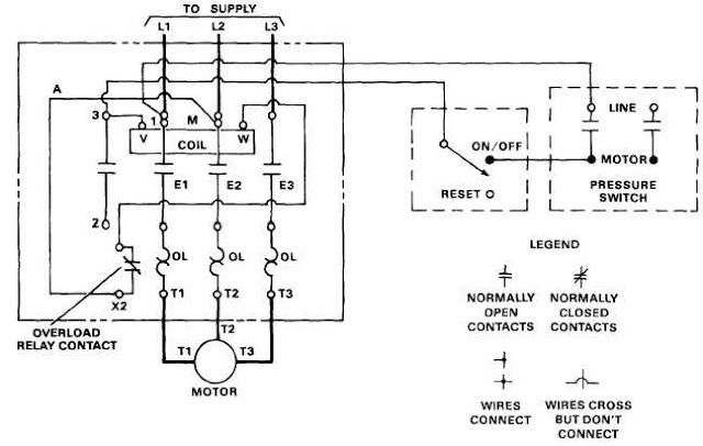 Electric Motor Controls Schematic Electric Motor Electricity Motor