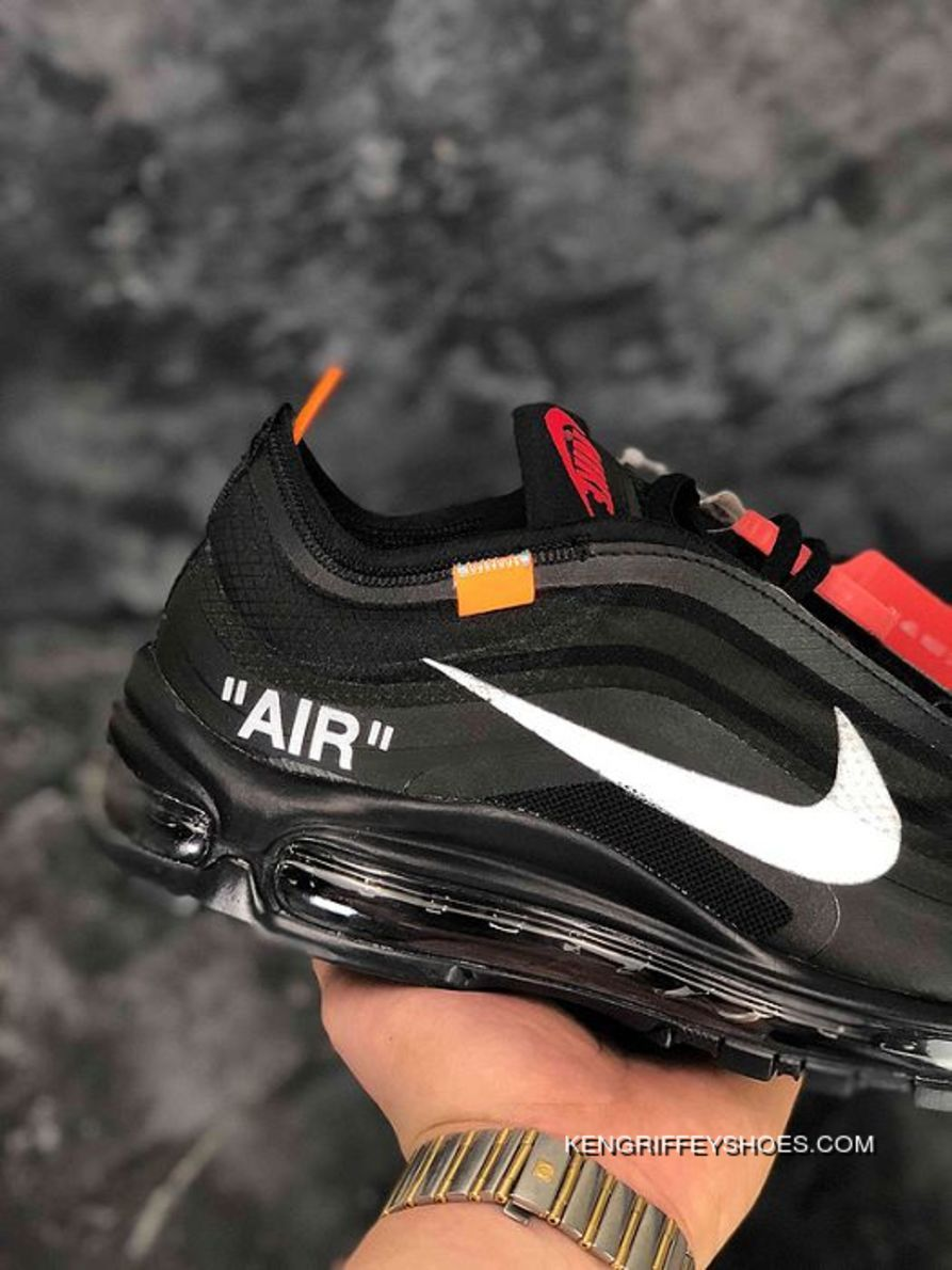 quality design 35090 c94bc Men Off White X Nike Air Max 97 Running Shoe SKU 190302-377 Free