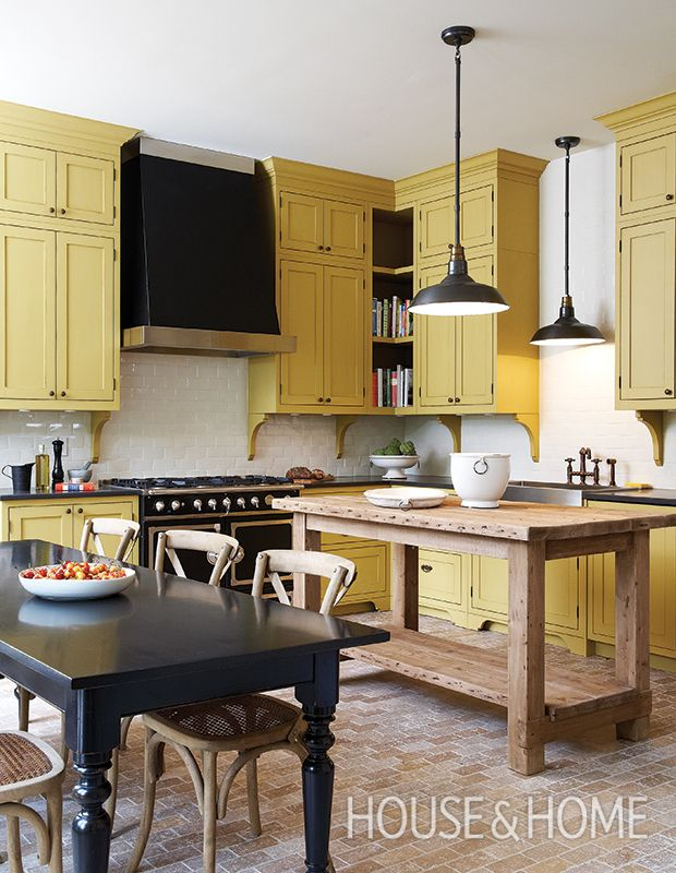 15 Sunny Yellow Paint Ideas To Brighten Up Your Home  Kitchen New Designer Kitchen Colors Decorating Design