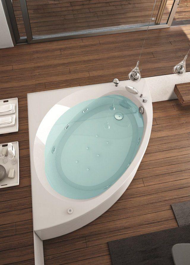 Modernes Bad Eckbadewanne Whirlpool Nova Hafro | Home Bad ... Badezimmer Whirlpool
