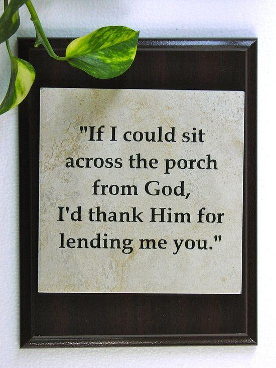 Husband Gift Wife Gift Christian Gift Thank You God Christmas