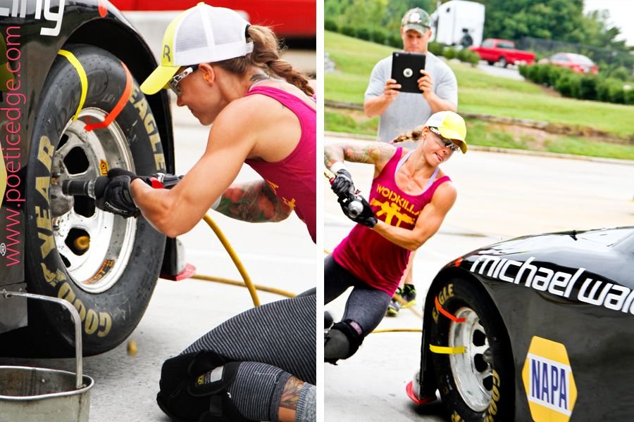 Christmas Abbott and NASCAR pit crew | It's Christmas Everyday ...