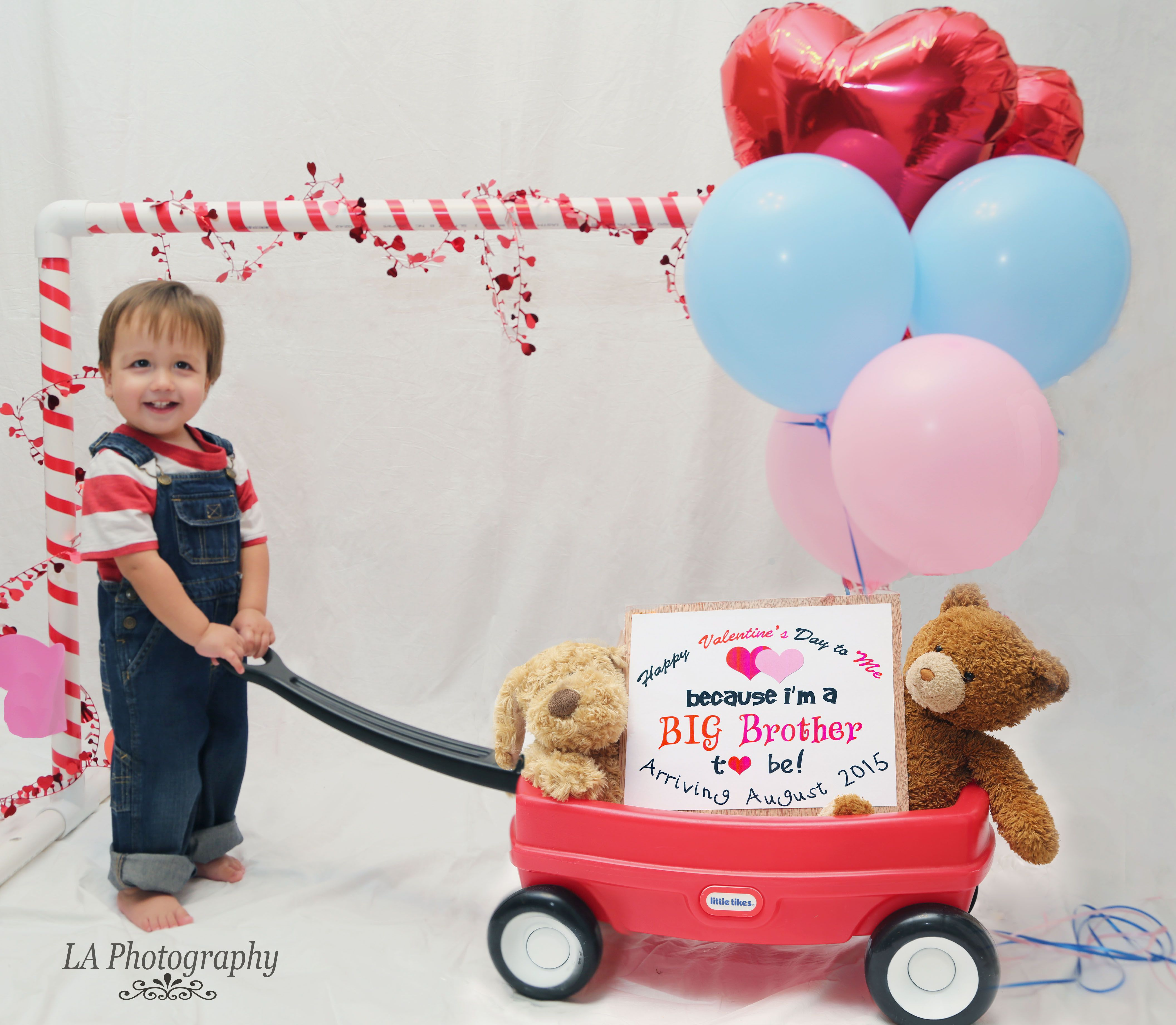 Baby Arrival Announcement on Valentine's Day