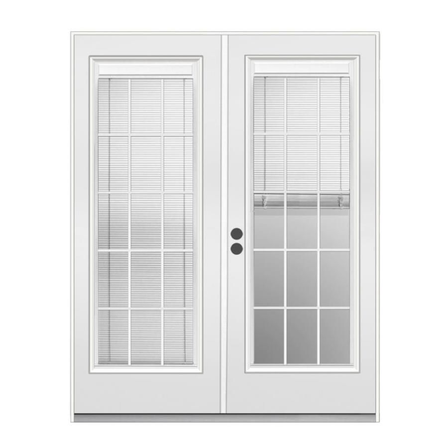 Jeld Wen 72 In X 80 In Blinds And Grilles Between The Glass Primed Steel Right Hand Inswing Double Door French Patio Door Lowes Com In 2020 French Doors Interior French Doors Patio Patio Doors These doors are priced to move and your chance to add a luxurious touch for less. pinterest