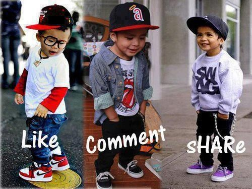Boys with swagger