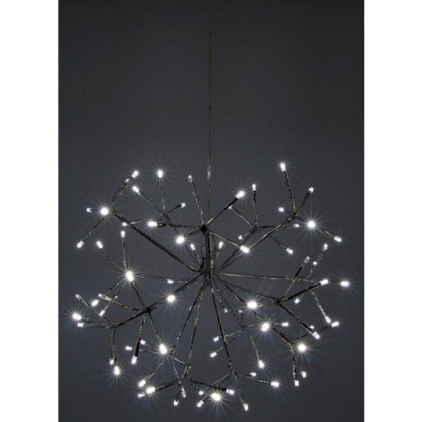 Lustre Lumineux de Noel pas cher 80 LED Blanc   Decoration Noel 2016 ... 4dcde555a095