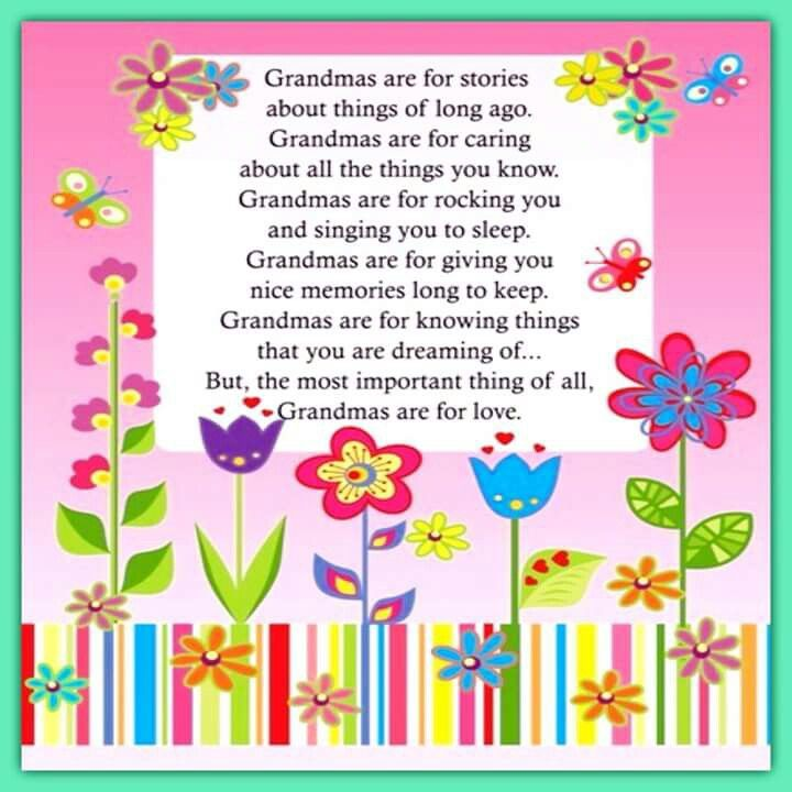 What grandma is.