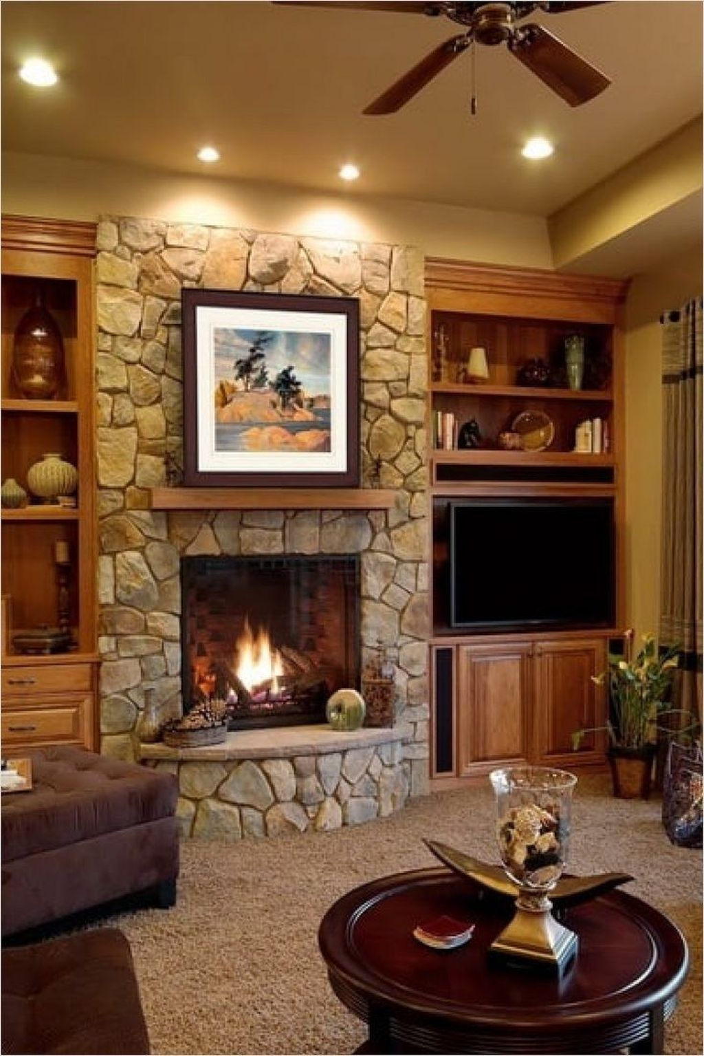 Best Fireplace Design Ideas For Small Houses Living Room 400 x 300