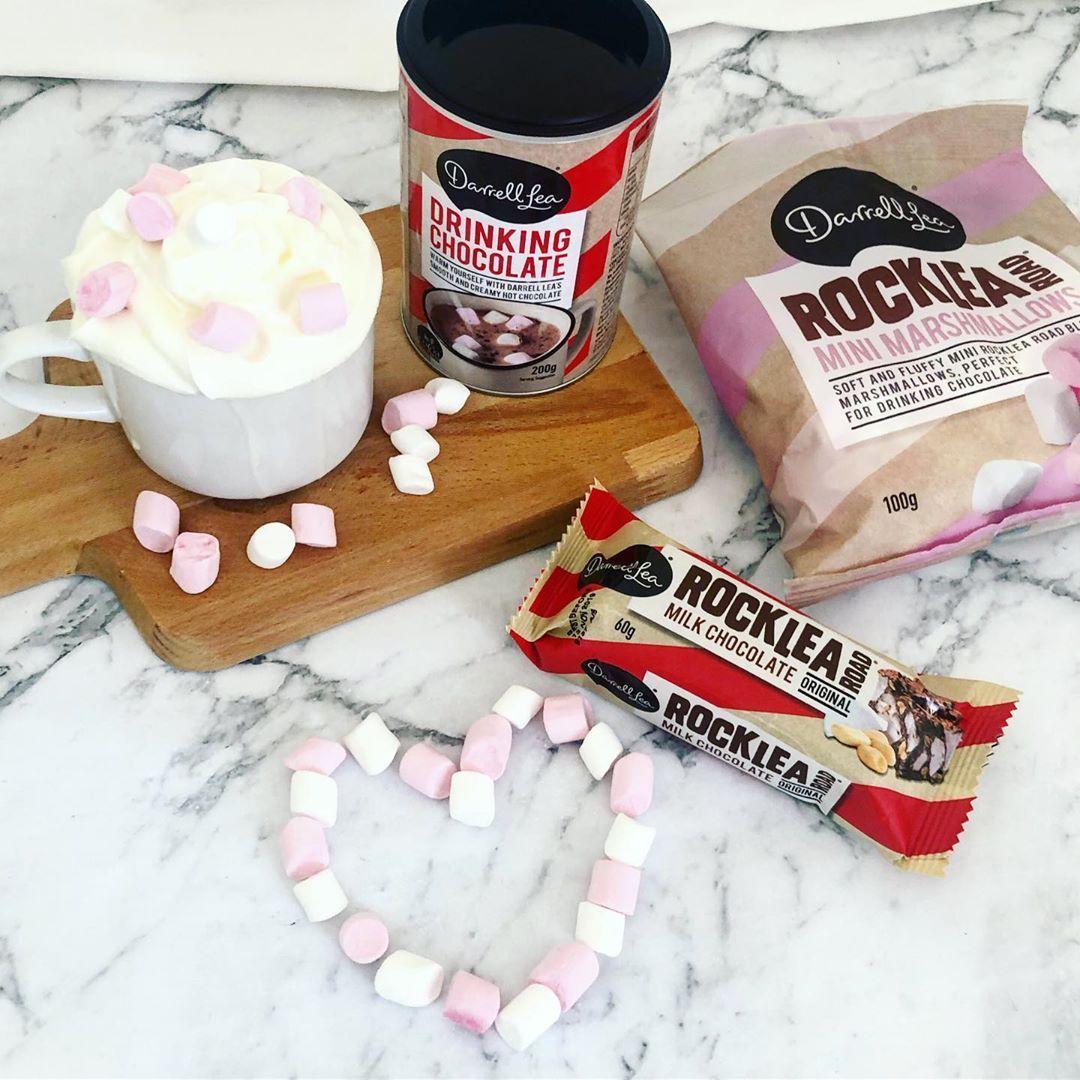 Found @darrelllea Drinking Chocolate & Mini Marshmallows at @woolworths_au 😍😋