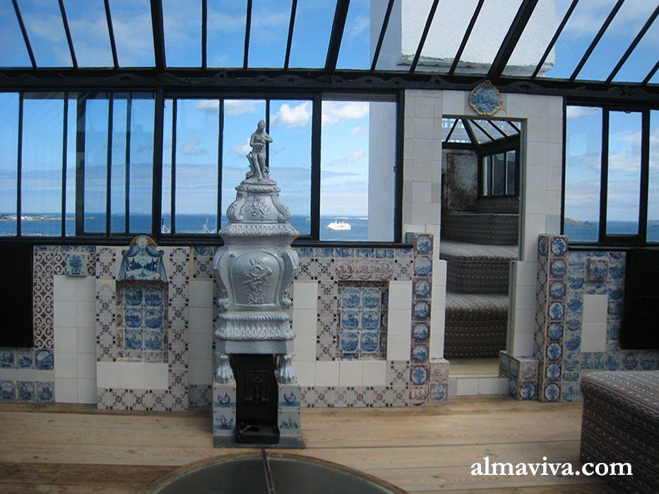 Décoration intérieure de la maison de Victor Hugo à Guernesey avec