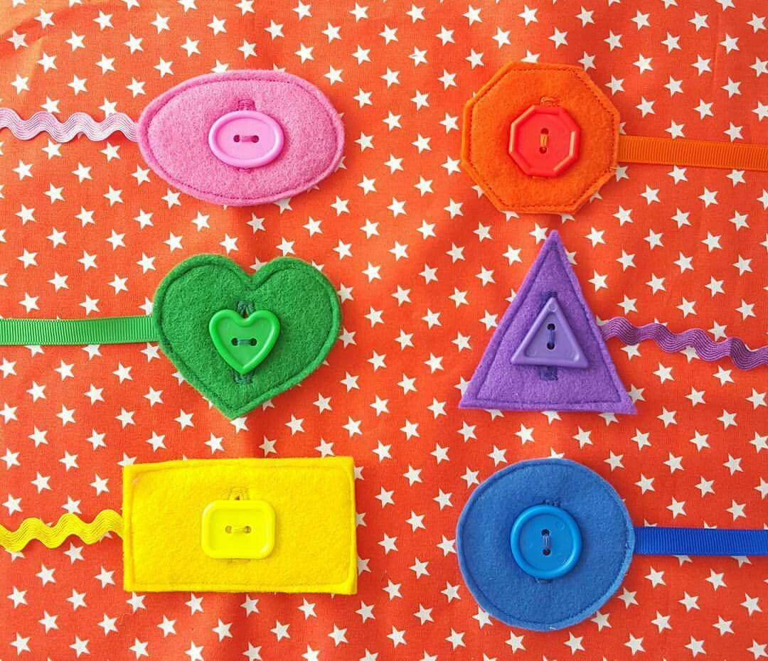Matching Shapes And Colours Using Buttons Exploring