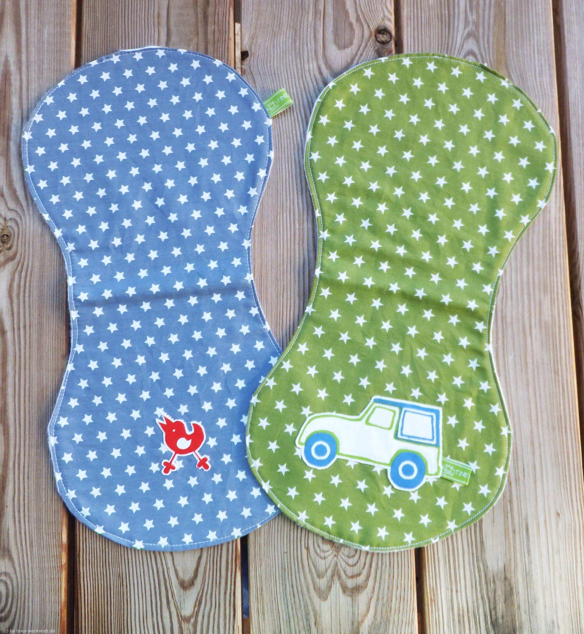 Spucktücher nach Freebook von Farbenmix | handmade: sewing ...