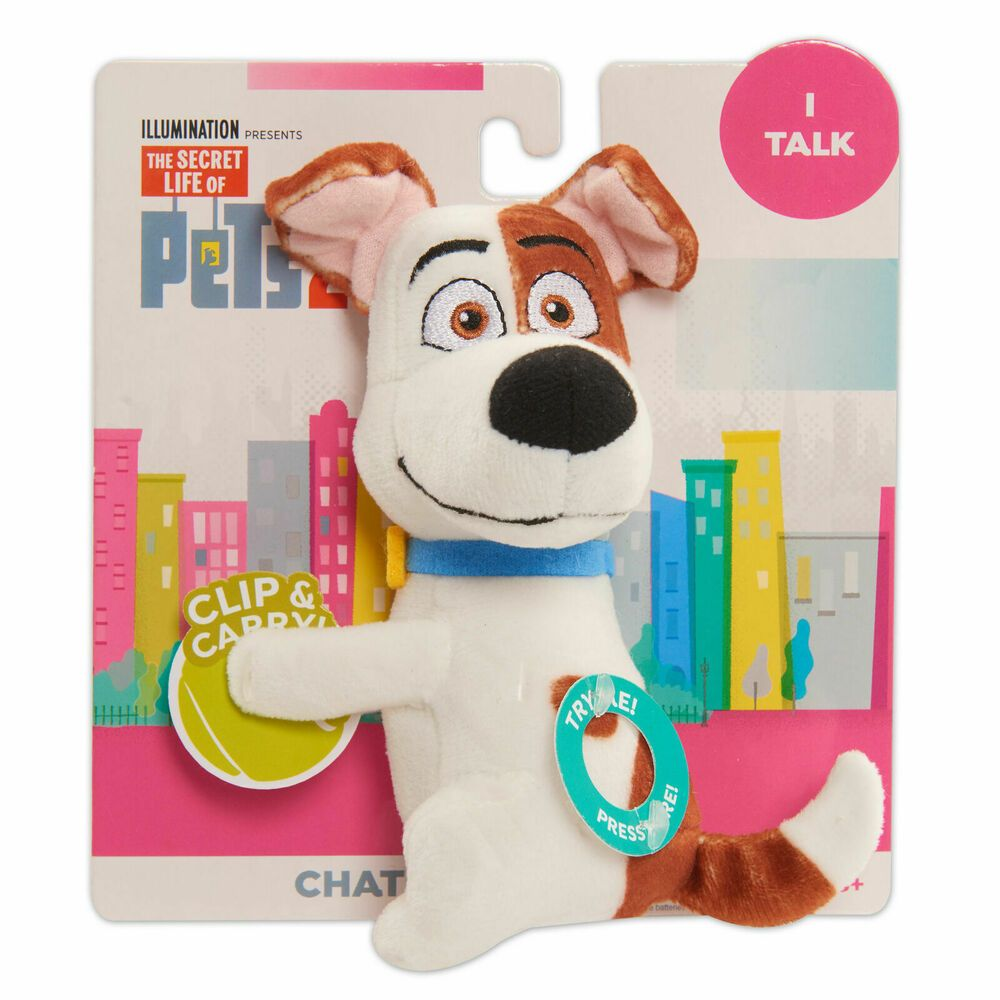 Details About Secret Life Of Pets 2 Chat Hang Plush Max New